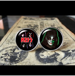 Kiss Peter Criss Cuff Links Men,Weddings,Gifts,Grooms