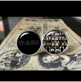 Led Zeppelin Physical Graffiti Album Cover Cuff Links