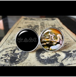 Led Zeppelin Houses Holy Album Cover Cuff Links