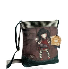 Ruby Wool Shoulder Bag Gorjuss