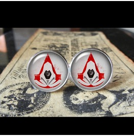 Assassins Creed Ezio Cuff Links Men,Weddings,Gift