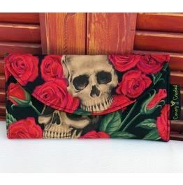 Skulls Bed Roses Wallet