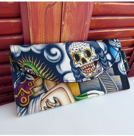 Sugar Skull Wallet Multi