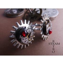 Steampunk Brunel Cufflinks Mens Cufflinks