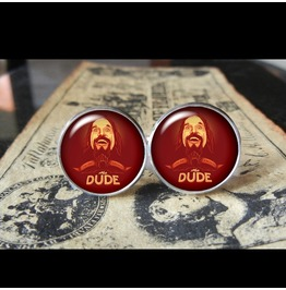 Big Lebowski Dude 1 Cuff Links Men,Weddings,Gifts,Groom