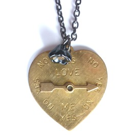 Love You? Necklace Valentine Day