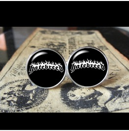 Hatebreed Band Logo Cuff Links Men,Weddings,Groomsmen,Grooms,Gifts,Dad,Boyfriend