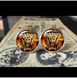 Hatebreed Self Titled Album Cover Cuff Links Men,Weddings,Groomsmen,Grooms,Gifts,Dads,Boyfriends