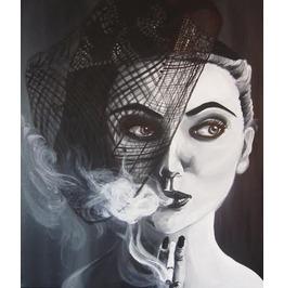 Diedra Nietz french black and white art