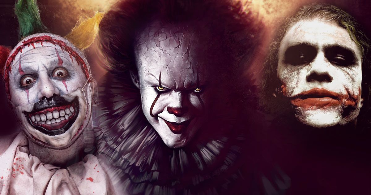 The Creepiest Clowns the World Has Ever Seen (from the Big and Small Screen)