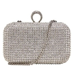 Fully Crystal Studded Evening Handbag