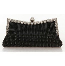 Retro Crystal Frame Evening Handbag