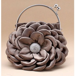 Flower Shape Evening Handbag