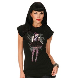 Jawbreaker Skull Girl Tunic Top