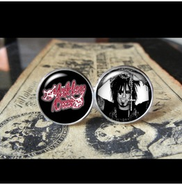 Motley Crue Logo Nikki Sixx Band Cuff Links Men,Weddings,Gifts,Groomsmen,Groom,Dads,Gifts