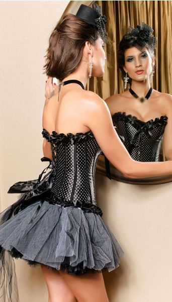retro_bow_tie_polka_dots_print_black_corset_bustiers_and_corsets_4.JPG
