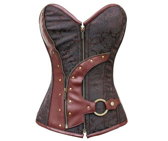 faux_leather_metal_ring_rivets_zipper_decor_red_corset_bustiers_and_corsets_5.JPG
