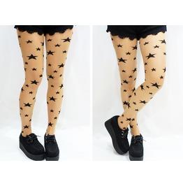 Stars Tattoo Tights/ Pantyhose