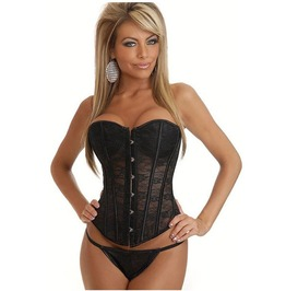 Sexy Strapless Bustier Corset