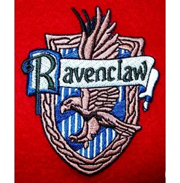 Ravenclaw Harry Potter Iron On Embroidered Patch Patches 3.0 X 2.5 Inches