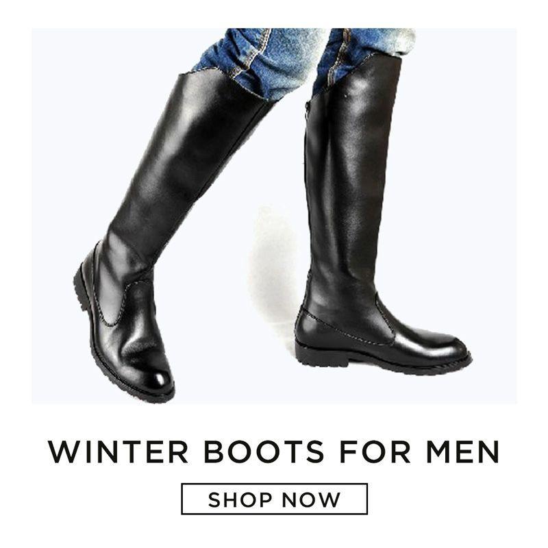 Heavy Duty: Winter Boots for Men