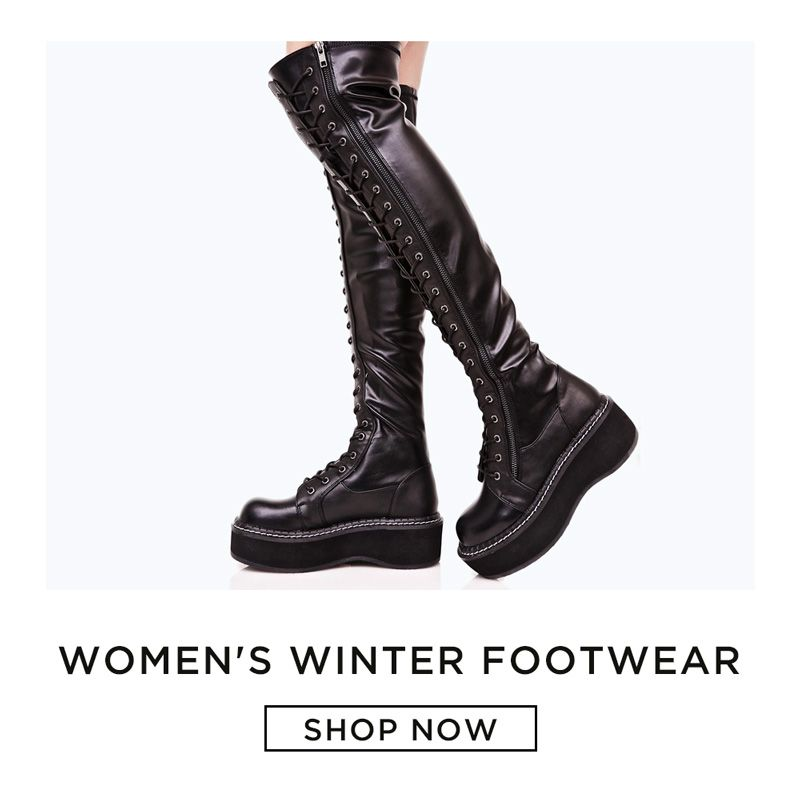 Boots Made for Walking: Winter Footwear