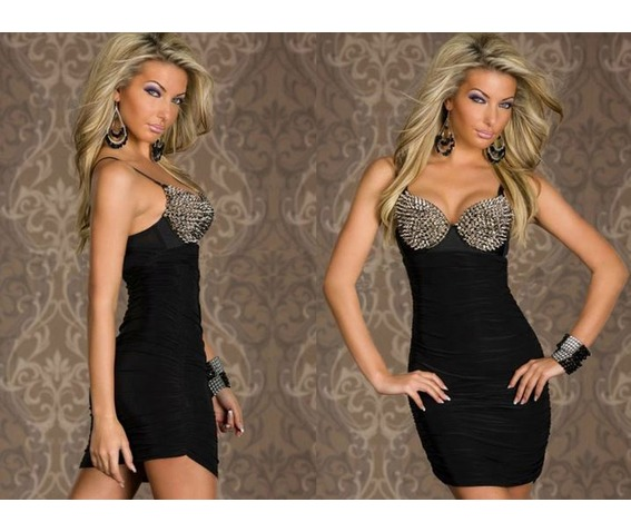 silver_spiked_bra_top_black_red_bodycon_minidress_dresses_3.JPG