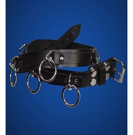 Standard bondage belt belts and buckles