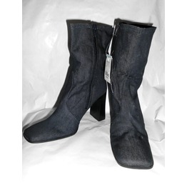 Blue Jean/Denim Boots Size 7
