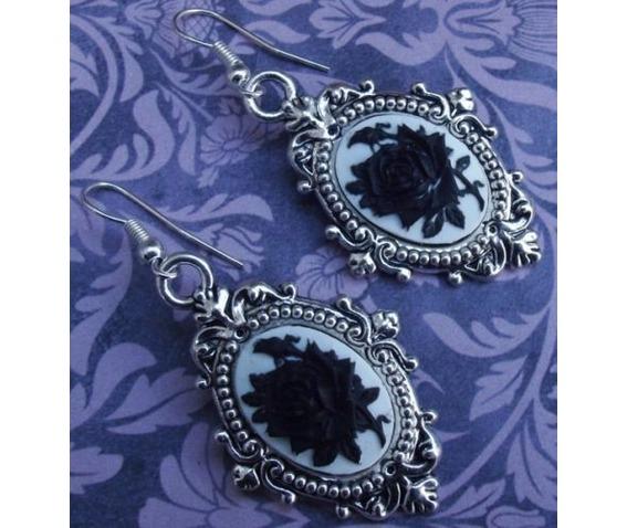 gothic_victorian_steampunk_black_rose_cameo_drop_filigree_earrings_earrings_2.JPG