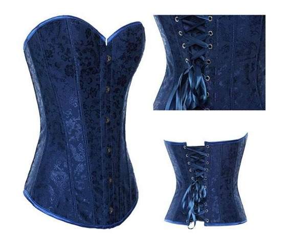 sexy_strapless_blue_satin_floral_bustier_corset_bustiers_and_corsets_3.JPG