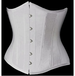 Sexy Strapless Front Fasterner Bustier Corset 4 Colors