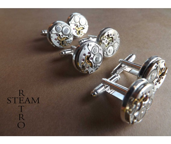3_matching_sets_steampunk_watch_cufflinks_16mm_vintage_round_chaika_watch_movements_steampunk_jewelry_vintage_upcycled_mens_cuff_links_cufflinks_6.jpg