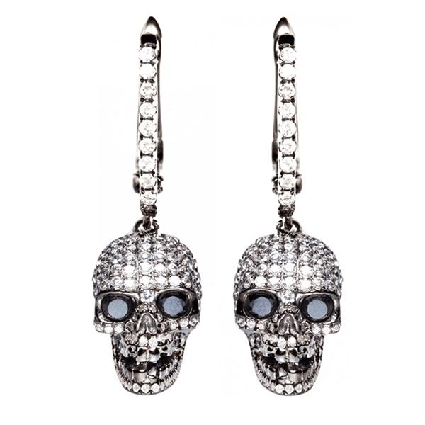 Skull Earrings   RebelsMarket