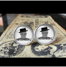 Breaking Bad Heisenberg Bb Cuff Links Men,Weddings,Groom