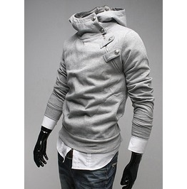 Gray Assassin Creed Hooded Pullover Sh24