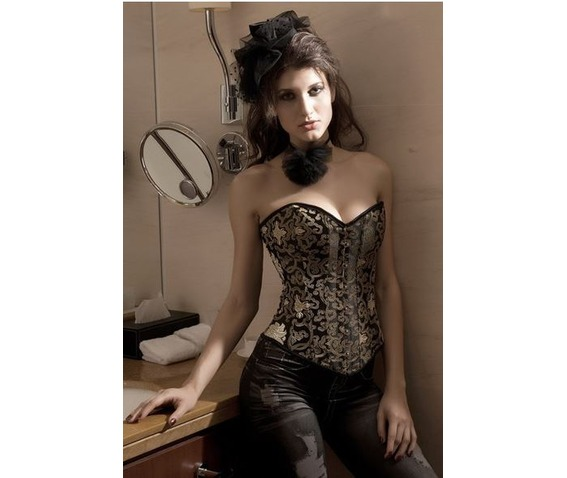 sexy_strapless_gold_pattern_bustier_corset_bustiers_and_corsets_4.JPG