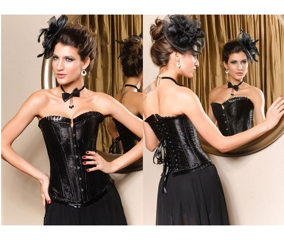 sexy_strapless_black_floral_bustier_corset_bustiers_and_corsets_5.JPG