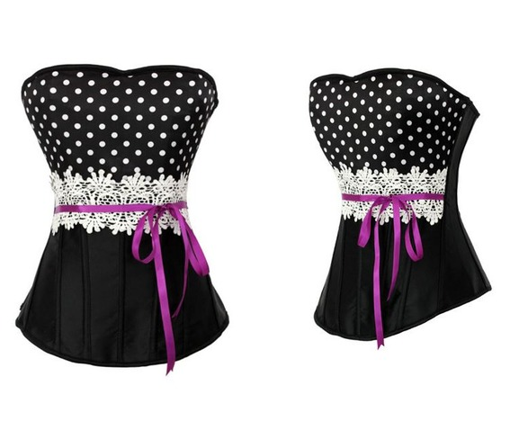 sexy_strapless_polka_dots_bustier_corset_bustiers_and_corsets_4.JPG