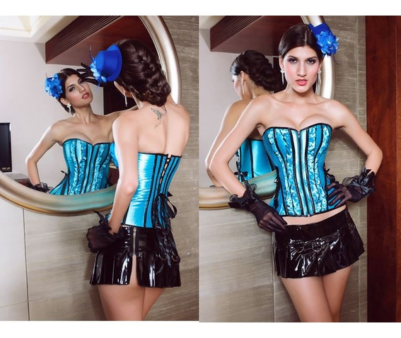 sexy_strapless_blue_stripes_bustier_corset_bustiers_and_corsets_3.JPG