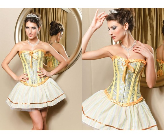 sexy_silvery_yellow_ribbon_bustier_corset_bustiers_and_corsets_4.JPG