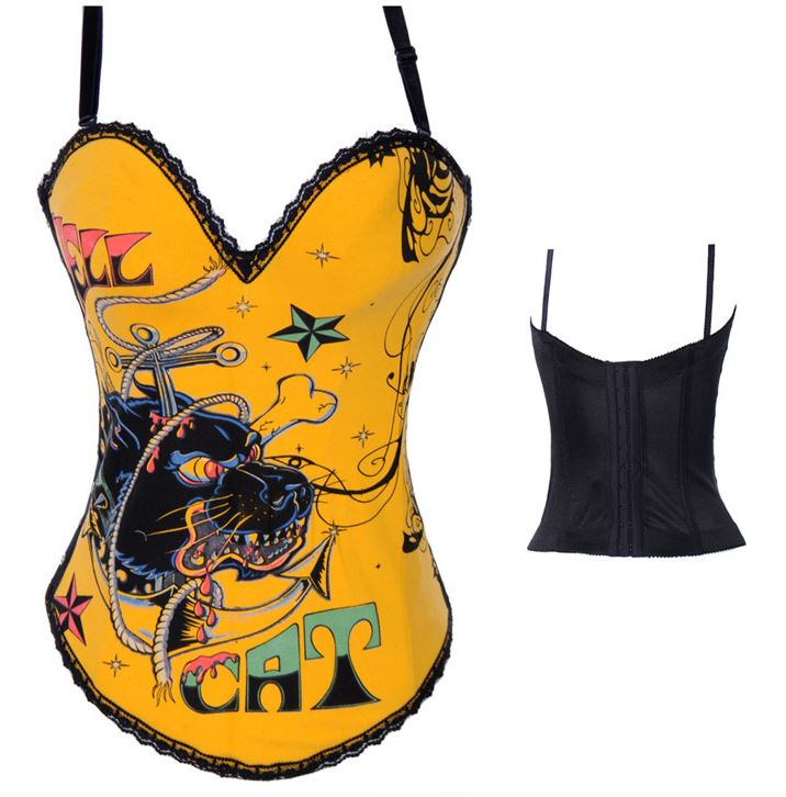 sexy_orange_dragon_print_bustier_corset_bustiers_and_corsets_3.JPG