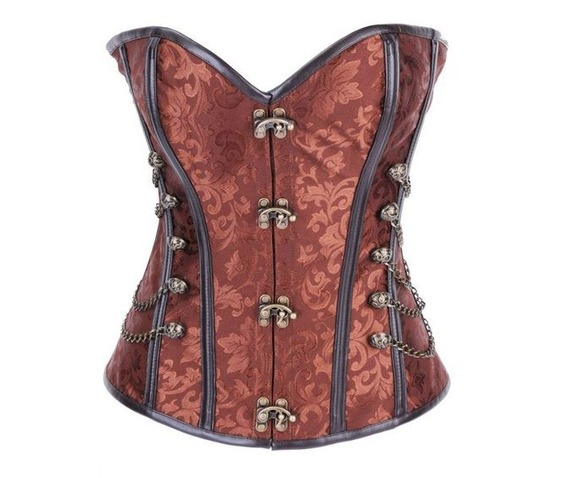 sexy_brown_metal_closure_chains_studs_bustier_corset_bustiers_and_corsets_4.JPG