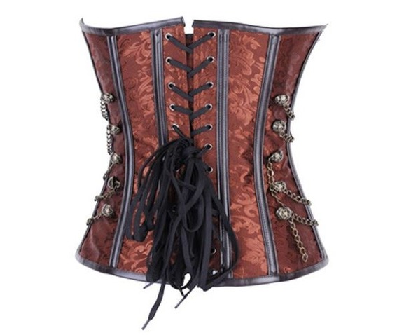 sexy_brown_metal_closure_chains_studs_bustier_corset_bustiers_and_corsets_3.JPG
