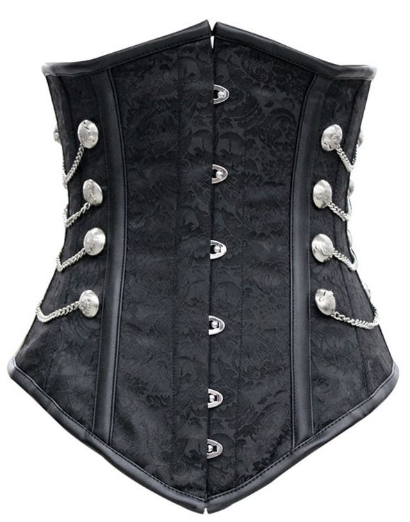 sexy_black_metal_closure_chains_studs_underbust_corset_bustiers_and_corsets_5.JPG