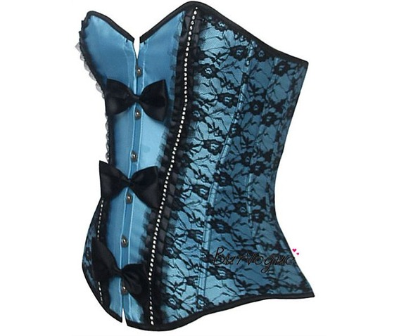 sexy_front_buttons_bow_lace_bustier_corset_bustiers_and_corsets_4.JPG
