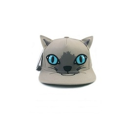 Gray Cute Cat Snapback A14