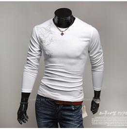 V Neck Shirt Nwa022 T Color : White