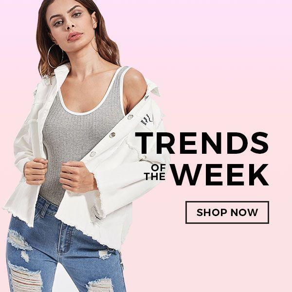 Trending women's styles march 15th