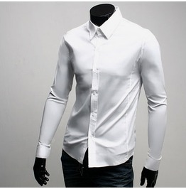 Shirt Fd001 Color : White